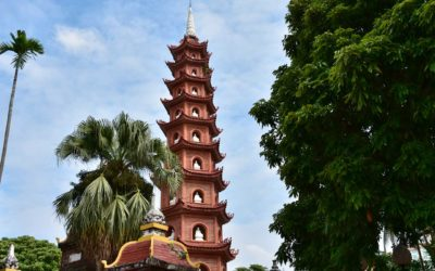 Millénaire de Thang Long-Hanoi : restauration de la pagode Trân Quôc