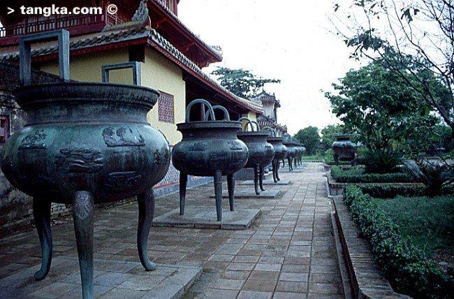 Les Neuf Urnes dynastiques de Hué, Vietnam