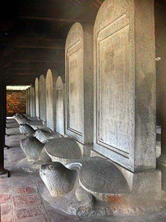 Steles Van Mieu- Temple de la Littérature-Hanoi