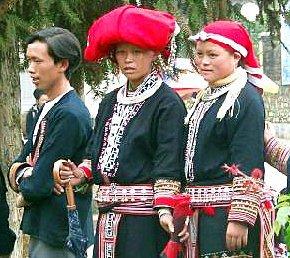 Daos rouges à Sapa - Vietnam