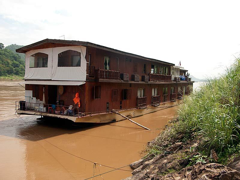 Bateau sur le Mekong - Laos