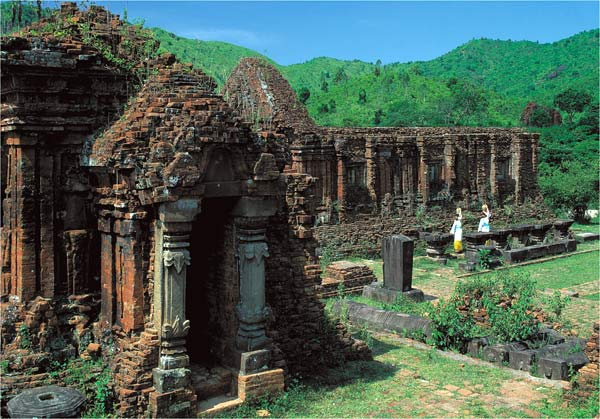 Temple Cham - My Son, Vietnam