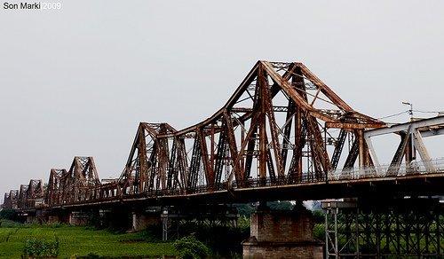 Pont Long Biên - Hanoi, Vietnam