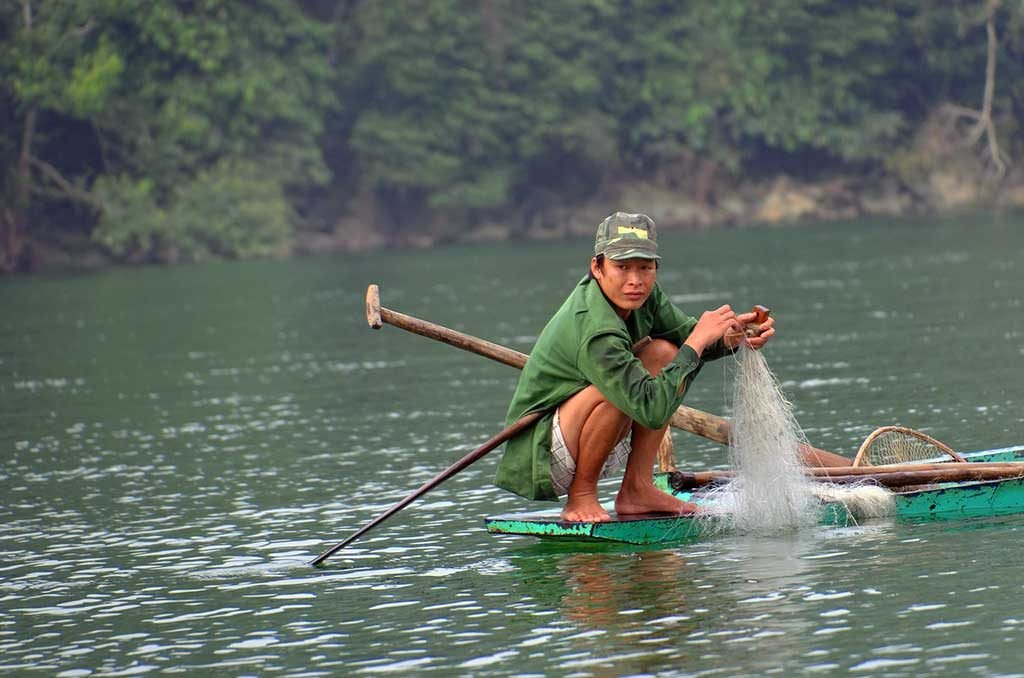 Lac Ba Be, Vietnam