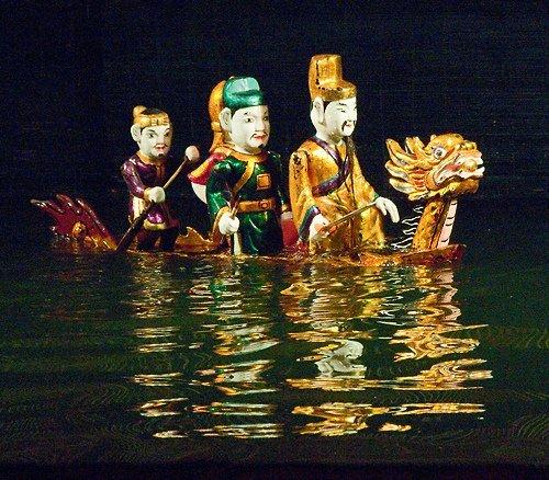 Hanoi, Marionnettes sur l'eau par mattjkelley