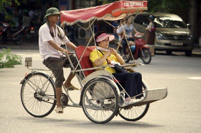 Cyclo-Pousse - Hanoï par Nam-Ho Park