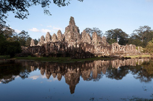 Temple de Bayon - Angkor Thom par Mark Fisher