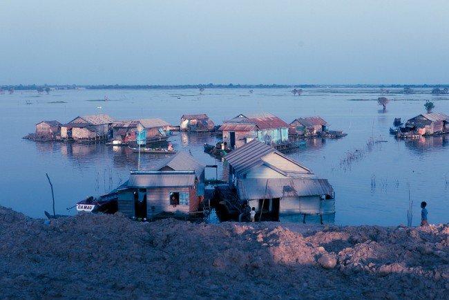 Lac Tonlé Sap par Daniel Chodusov