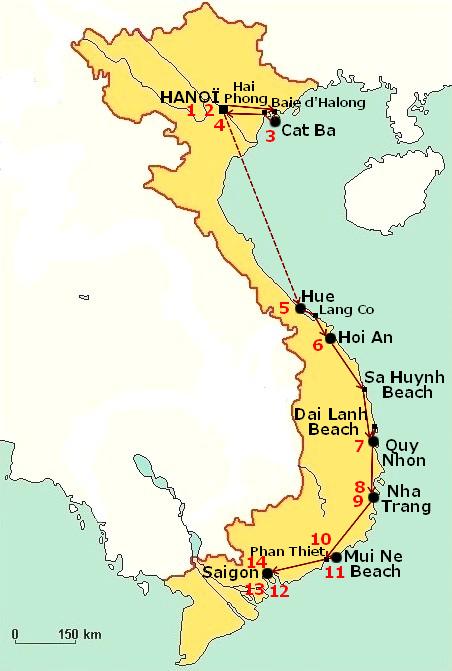 Les plus belles plages au vietnam - Plage de reve vietnam ...