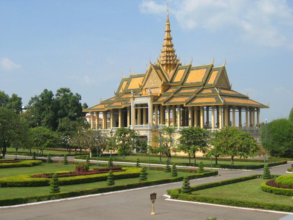 Phnom Penh, Palais Royal, Cambodge