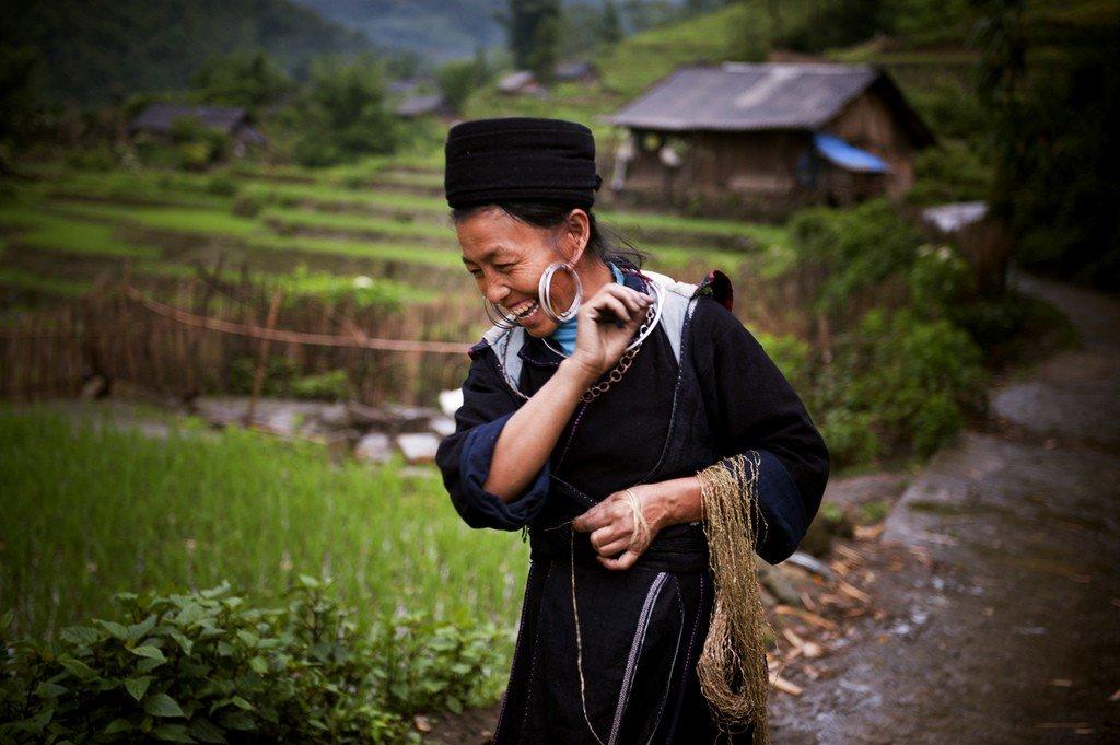 H'Mong woman in Vietnam par United Nations Photo