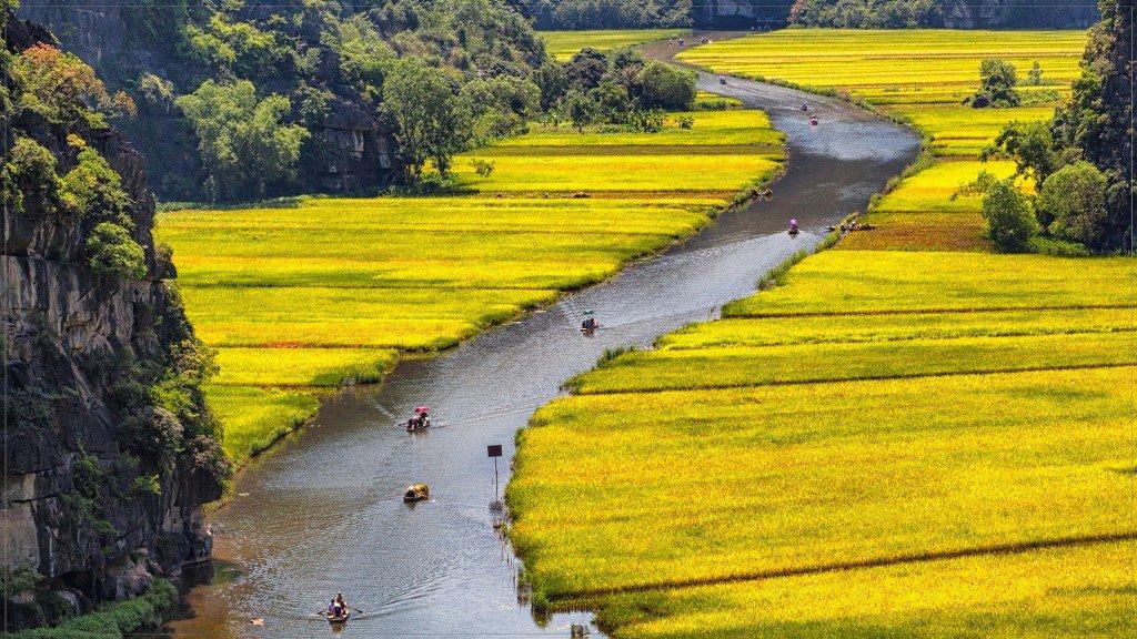 Tam Coc par Tuấn Mai
