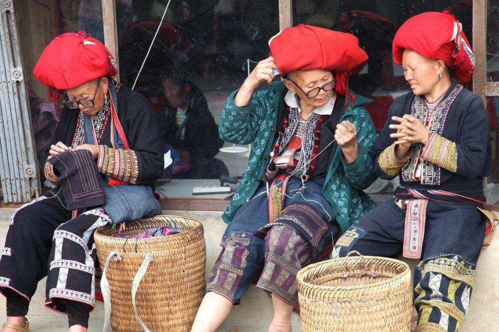 Ethnie Dao rouge - Sapa, Vietnam