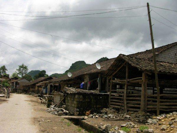 Cao bang - Habitat typique, Vietnam