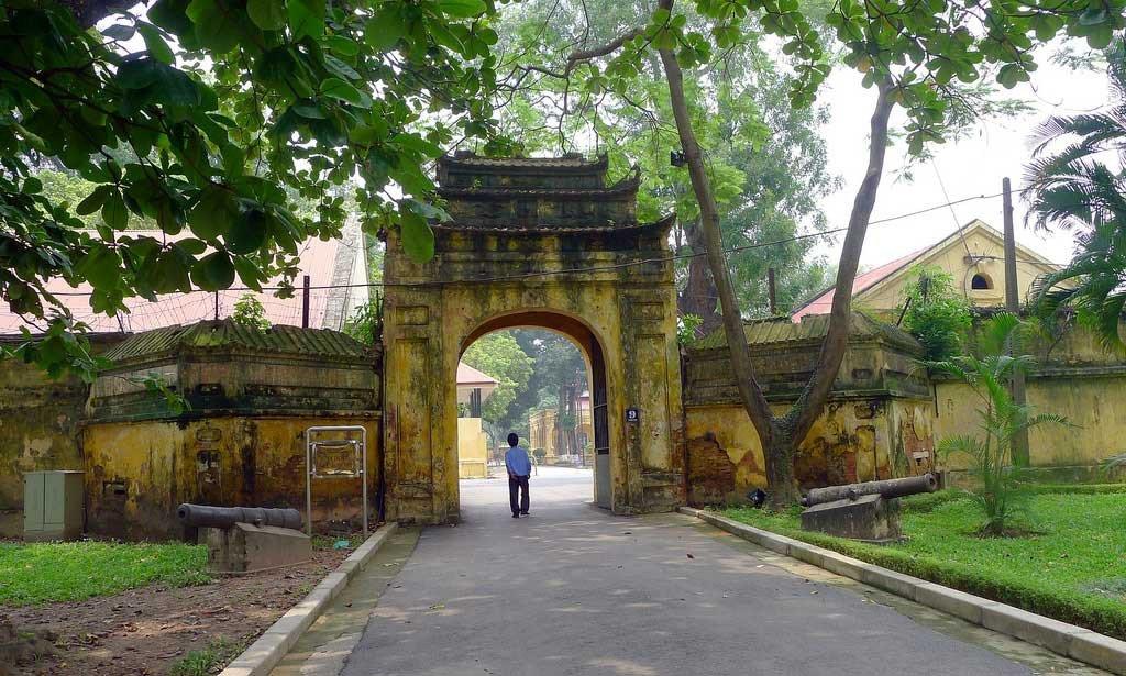 Porte du Palais Kinh Thien, citadelle Thang Long - Hanoi, Vietnam