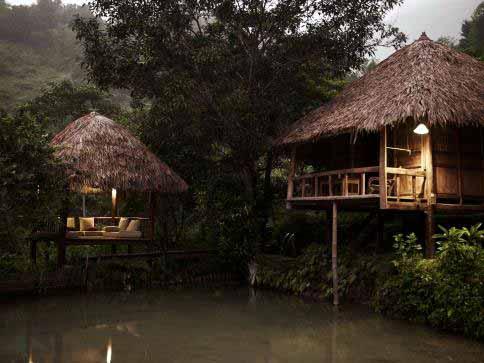 Les bains de Hieu - Pu Luong, Vietnam