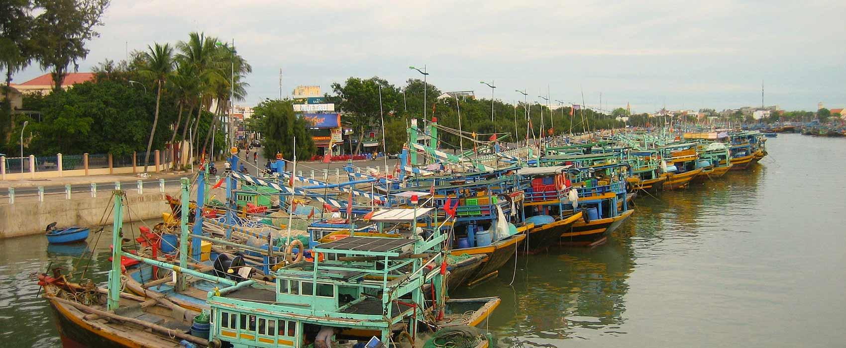 Port de Phan Thiet, Vietnam