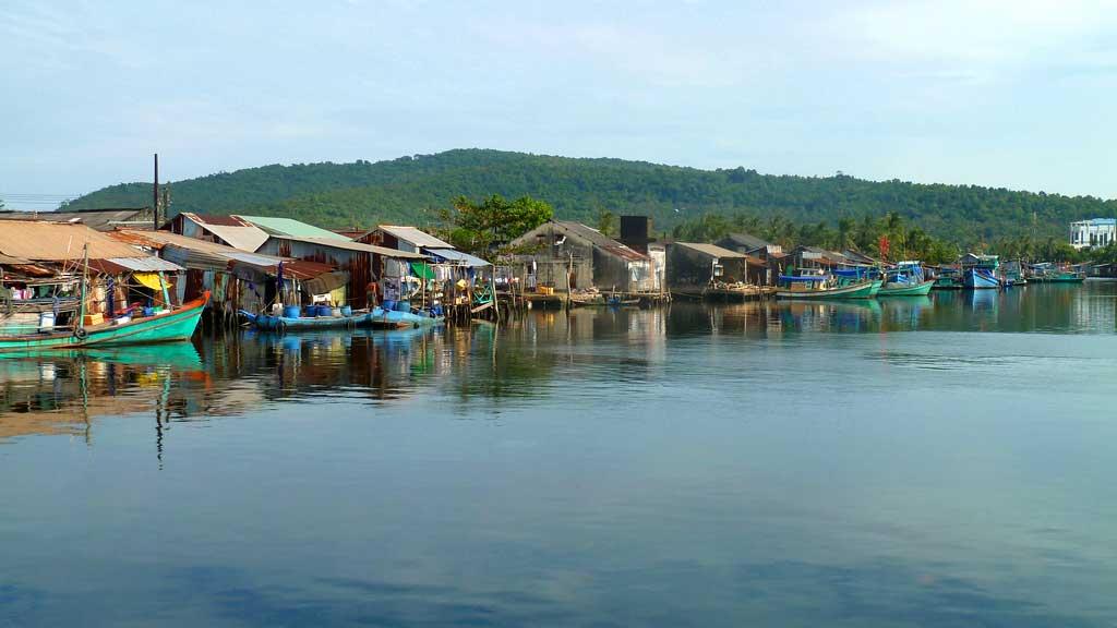 Bateaux de pêche - Phú Quốc, Kiên Giang, Viêt Nam