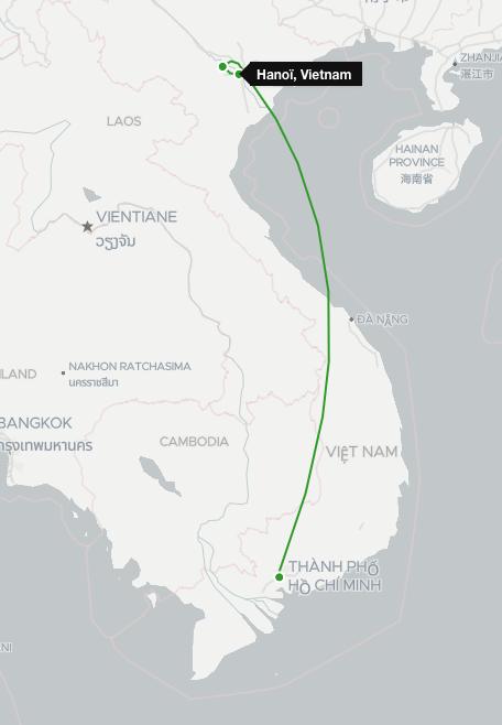 Itinéraire Circuit Vietnam Nord et Sud sous un autre angle