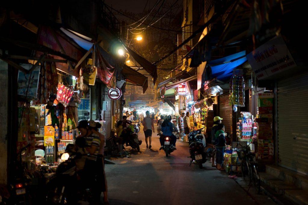 Hanoi, Marché de nuit - Vietnam