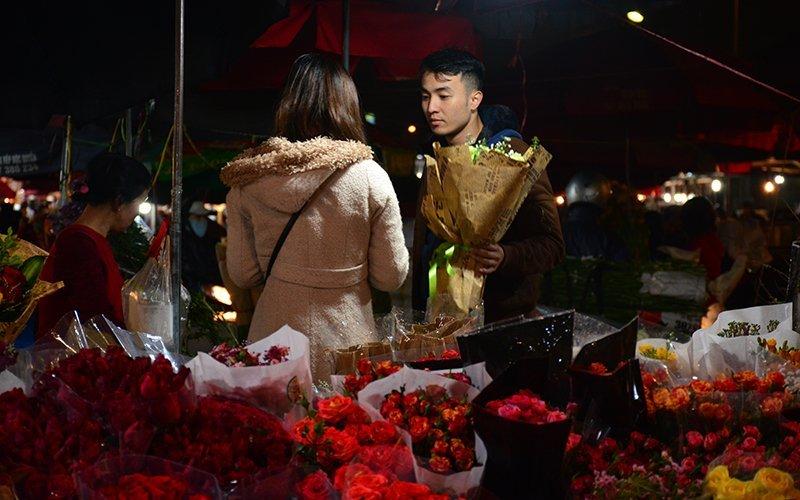Marché aux fleurs de Quang Ba, Vietnam