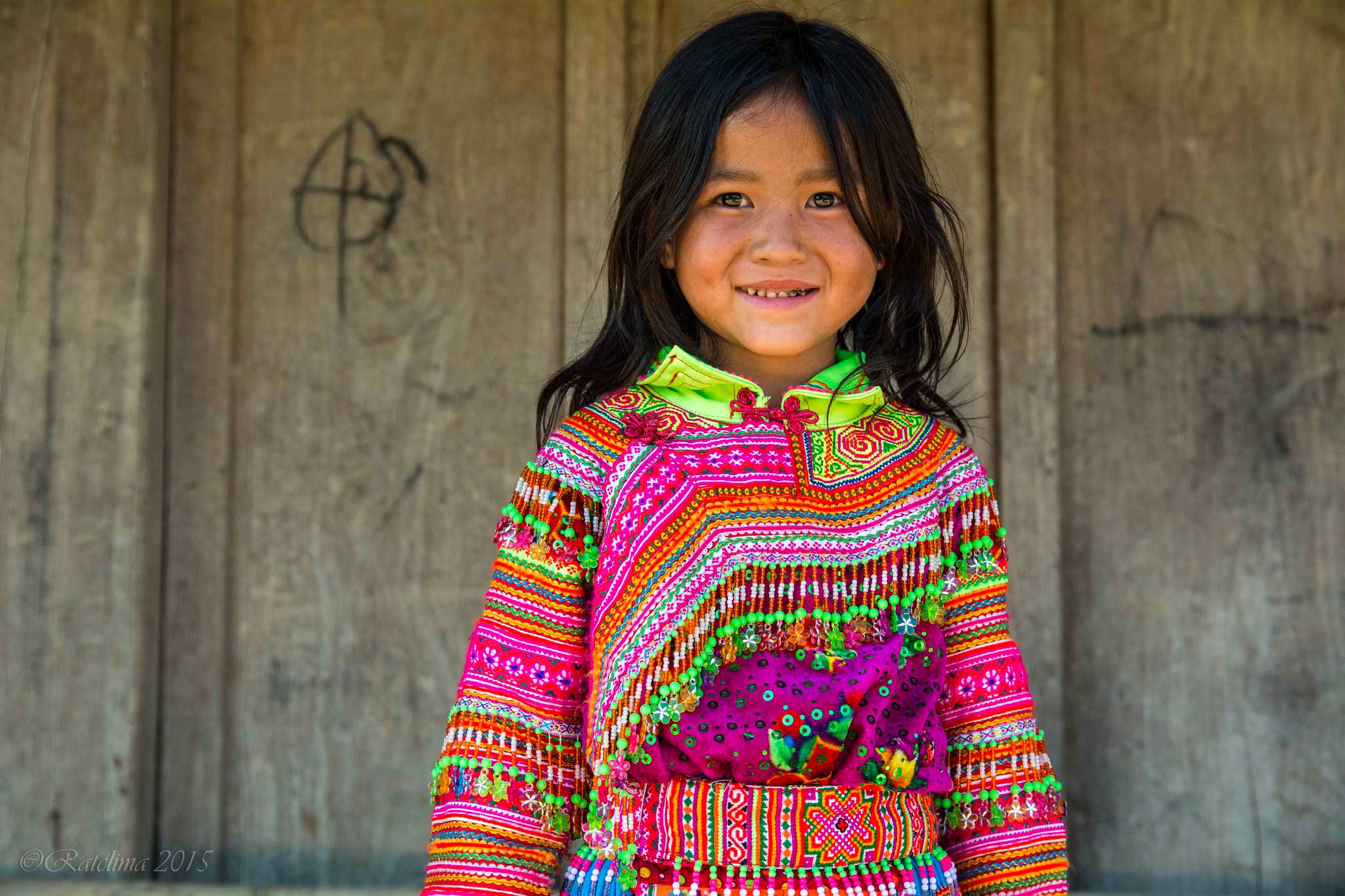 Jeune fille Hmong, Dak Lak, Vietnam