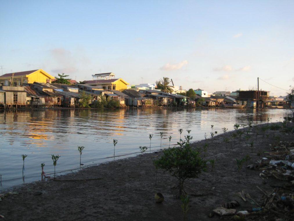 Bac Liêu, rivière - Vietnam