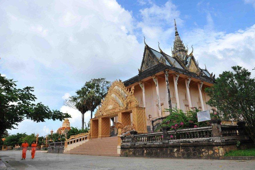 Pagode Xiêm Cán, Bạc Liêu, Vietnam