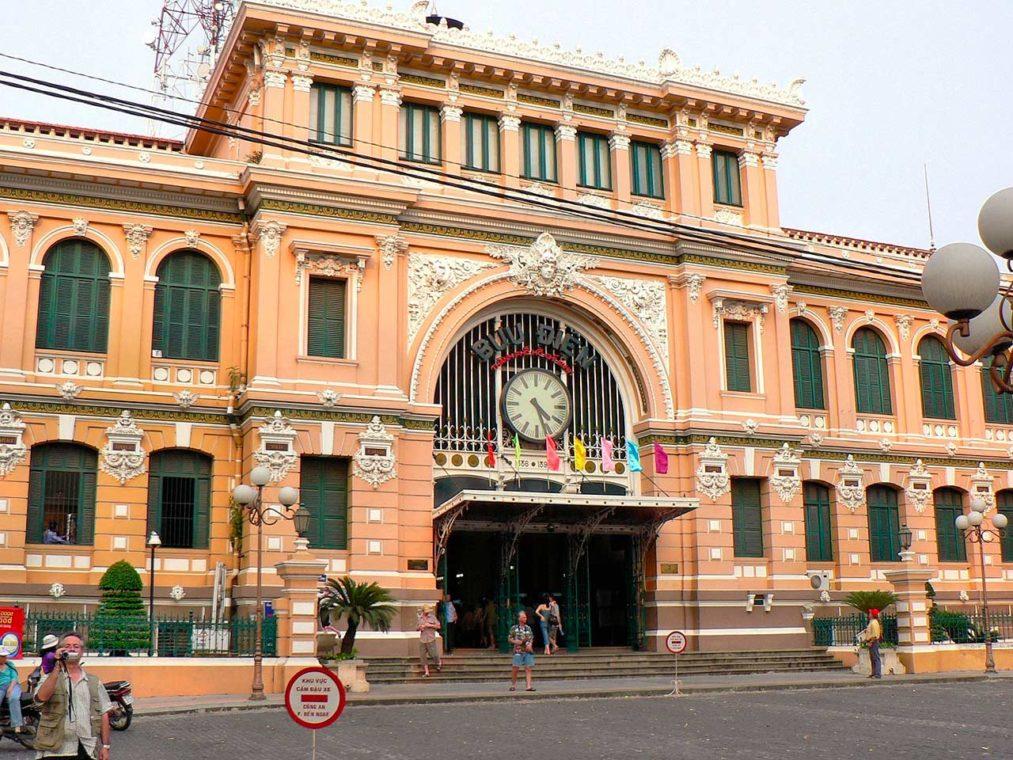 Ho Chi Minh-Ville, Poste - Vietnam