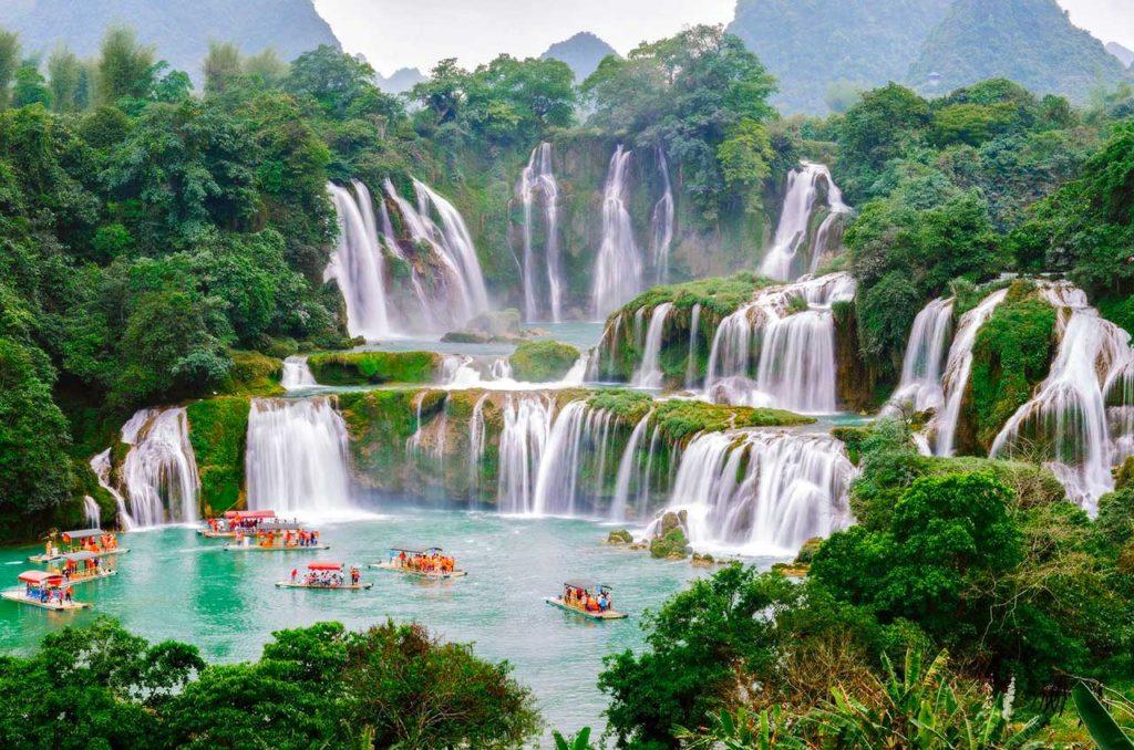 Chutes de Ban Gioc, Cao Bang, Vietnam