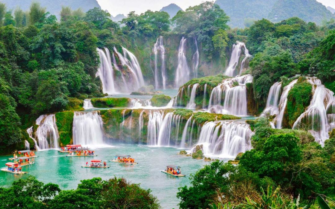 Les plus belles chutes d'eau du Vietnam